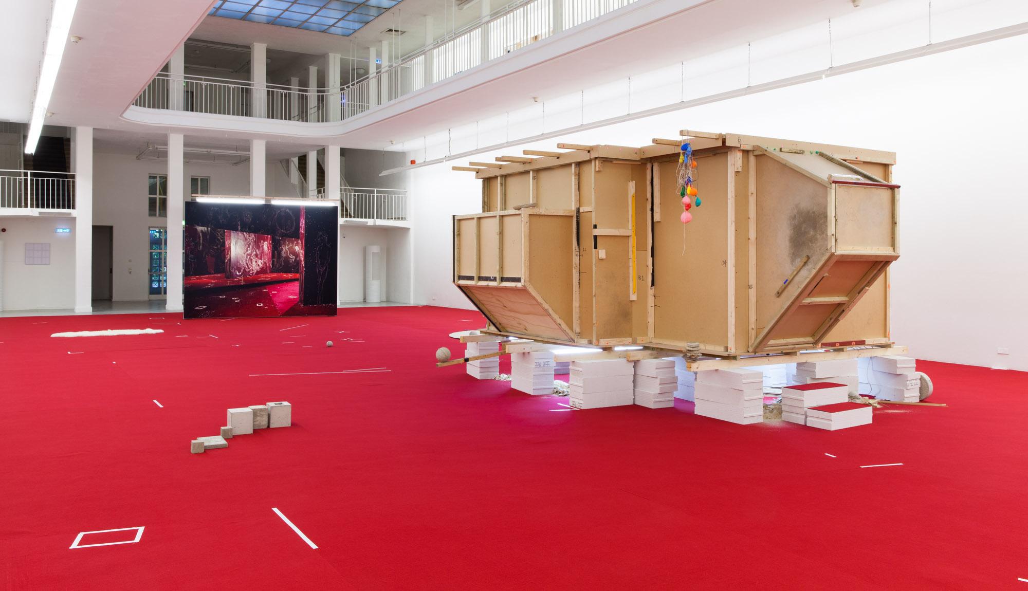 Anne Hardy Kunstverein Freiburg Installation view 2014