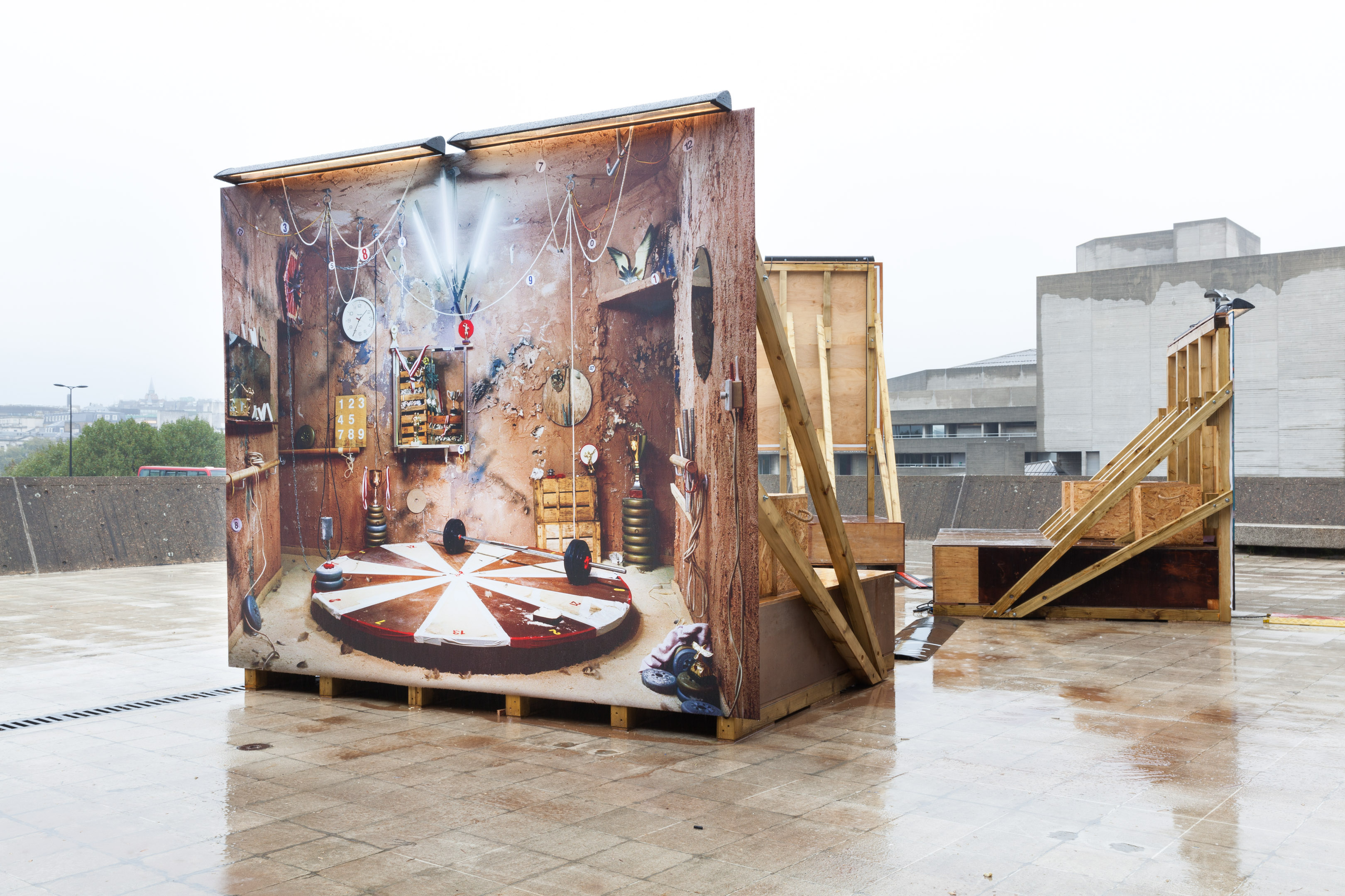 Anne Hardy installation view hayward gallery 2014